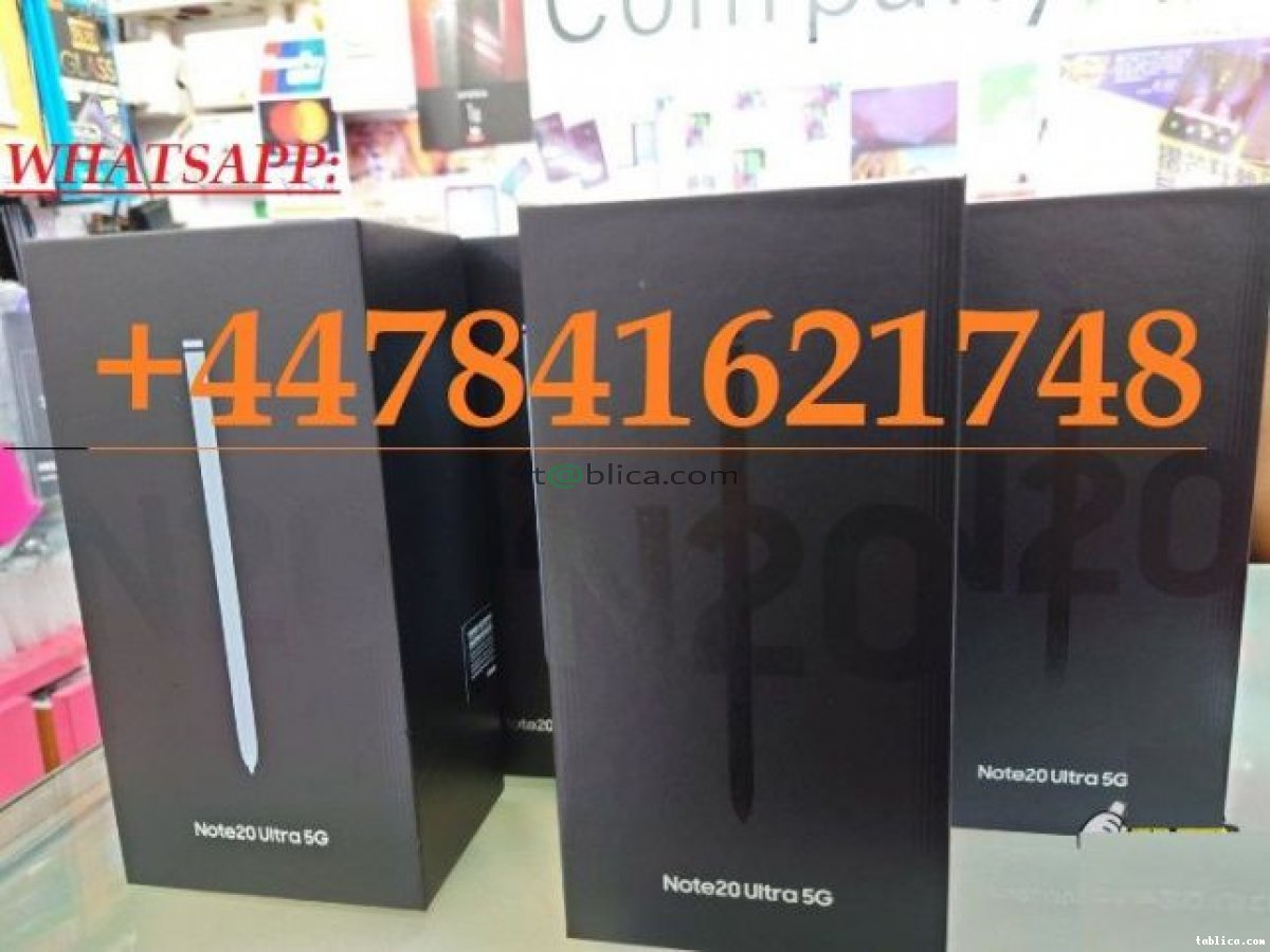Samsung Galaxy Note 20 Ultra 5G, S20 Ultra 5G, Whatsap