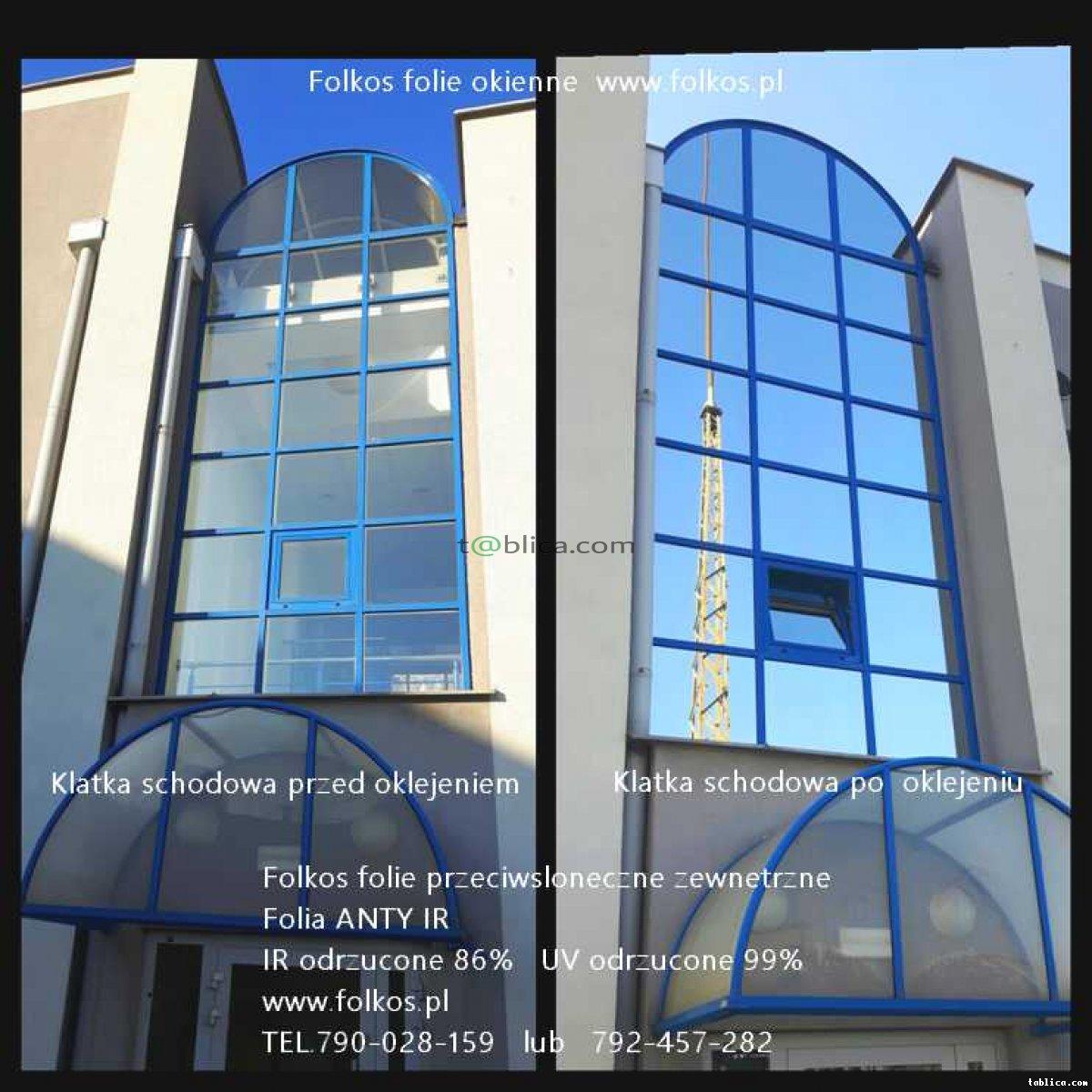 Folie przeciwsłoneczne Warszawa -Folia anty IR,UV