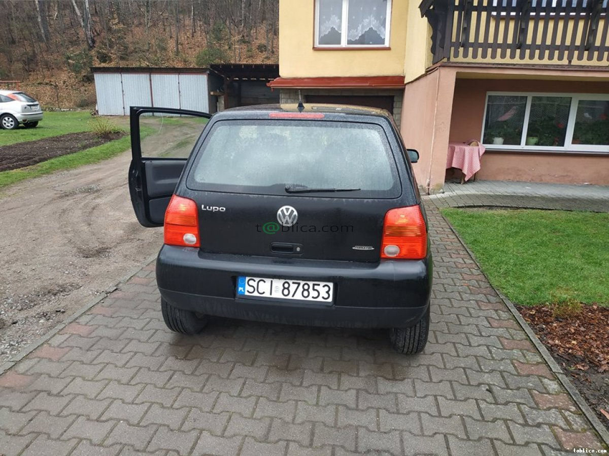 VW Lupo 1.4, benzyna