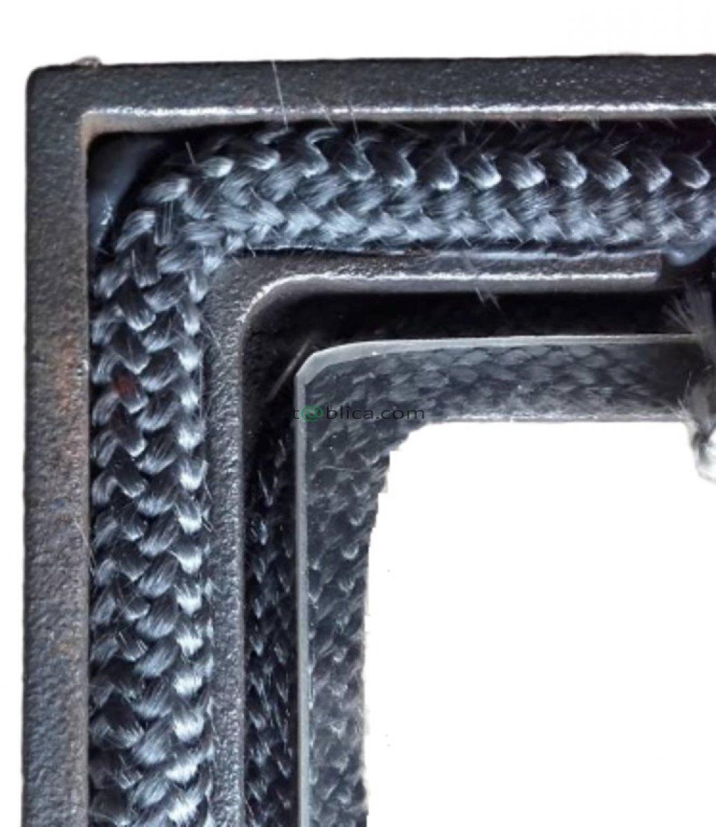 ZESTAW NAPRAWCZY DO KOMINKA SZNUR SZKLANY 6mm