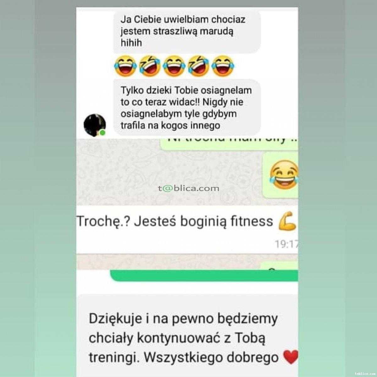 TRENER PERSONALNY - Marzenia się spełniają !