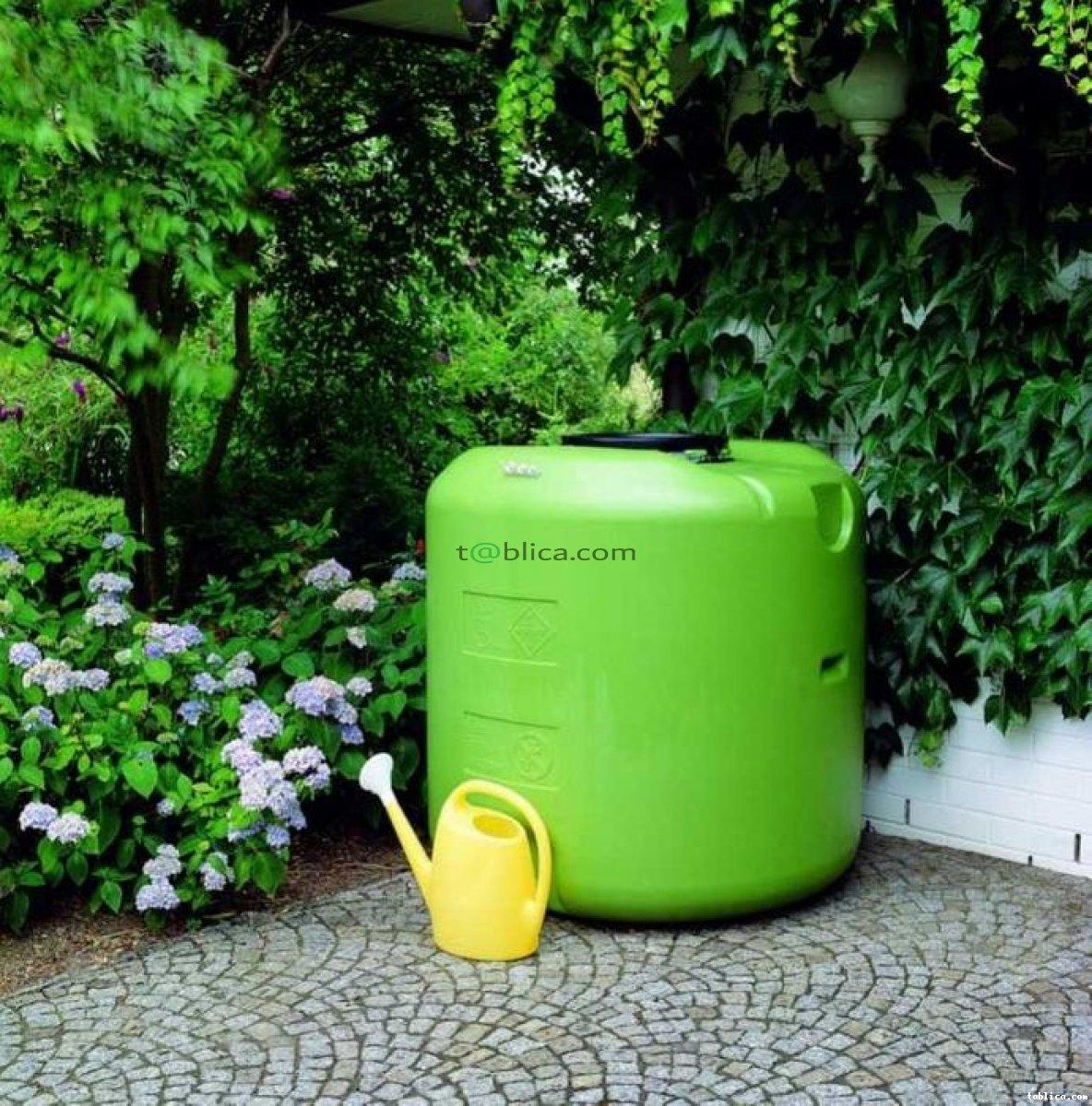 Zbiornik na deszczówkę 1000 litrów pojemnik ogrodowy