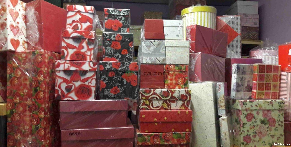 Flower box - pudełka Producent - hurtownia