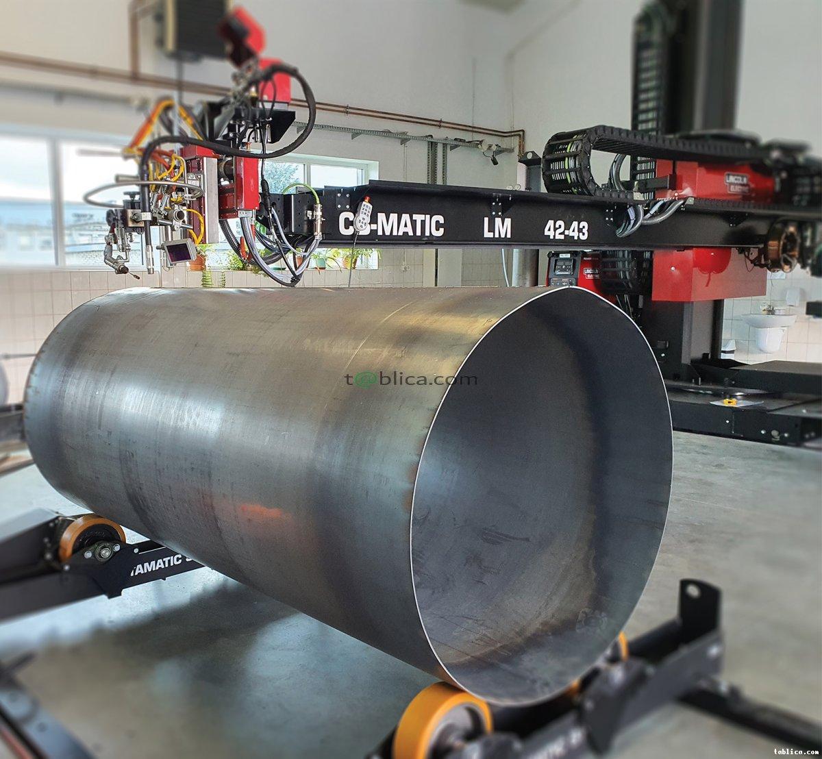 SPAWANIE AUTOMATYCZNE CNC zbiorniki/rury/walce
