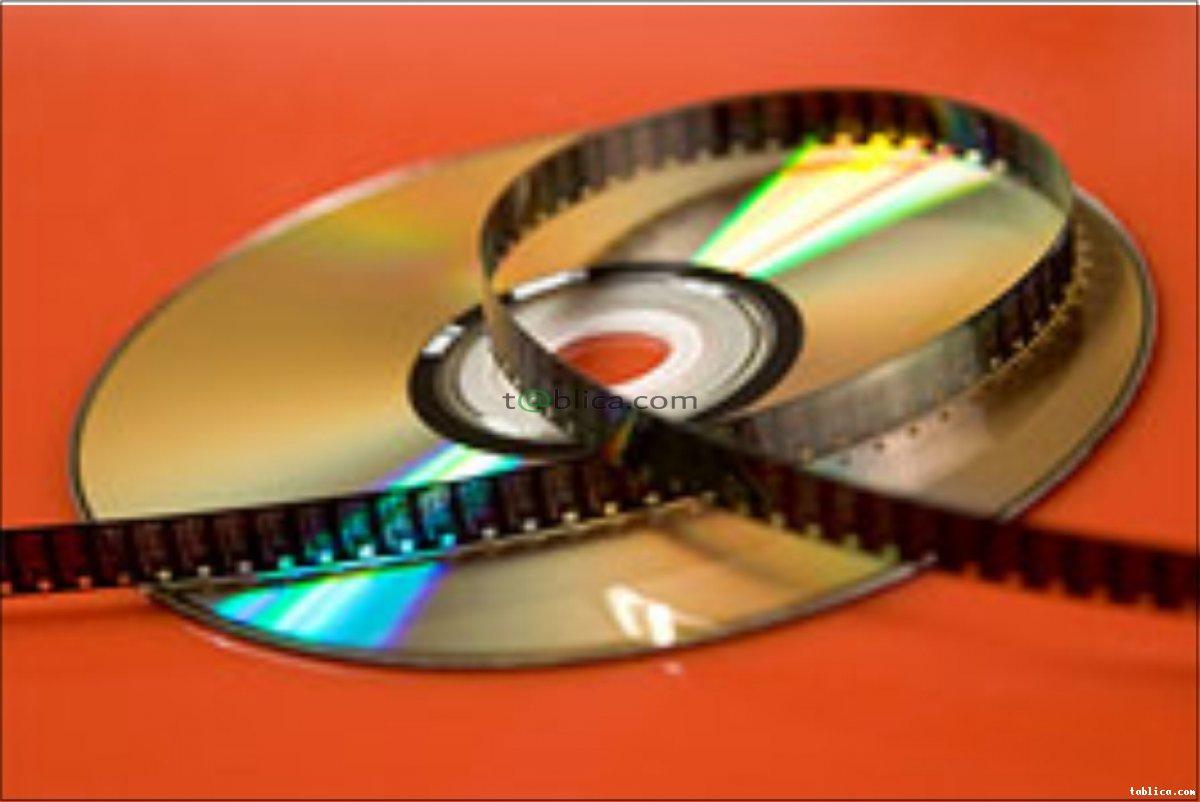 Kopiowanie filmów z kaset i płyt na płyty DVD i BD