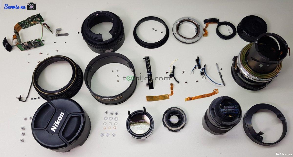 Serwis aparatów fotograficznych, dronów, lamp itp.