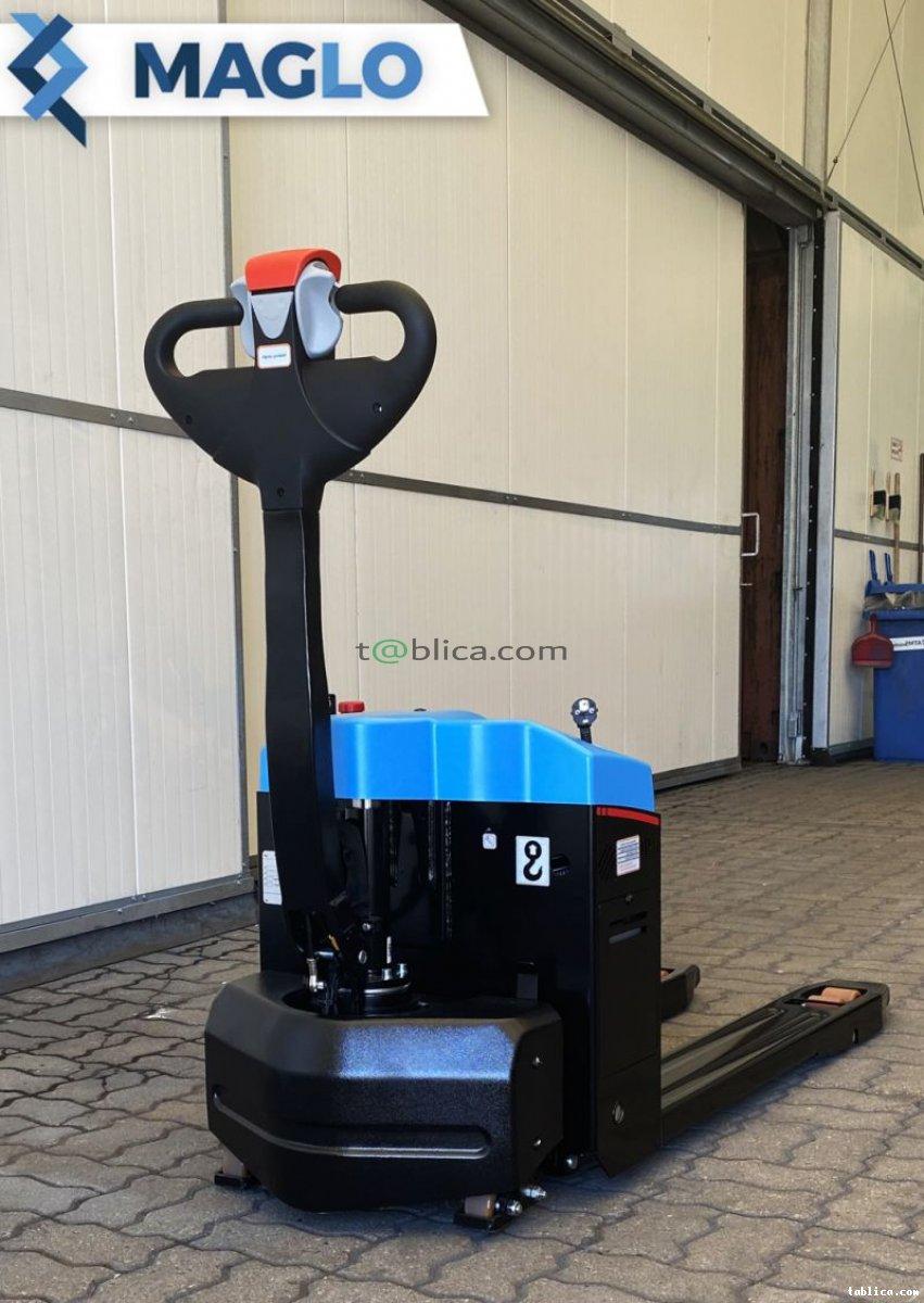 Wózek paletowy Maglo - elektryczna jazda i unoszenie,