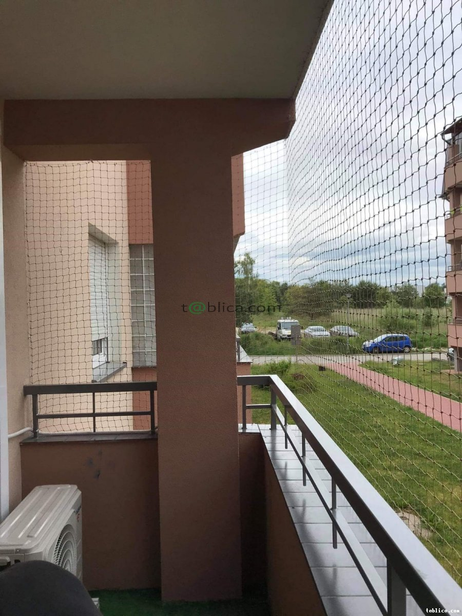 montaż siatek  na balkon, okna, tarasy