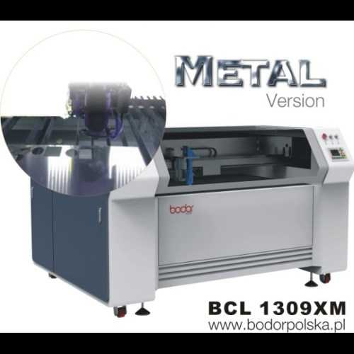 Ploter laserowy CO2 Bodor BCL 1309XM cięcie metalu 1300x900mm 150W