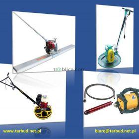 Zacieraczki do betonu, wibrator, buława, łata wibracyj