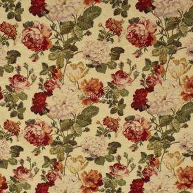Róża angielska, materiał obiciowy, meblowy