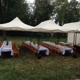 Namiot namioty wynajem ławo stoły krzesła komunia