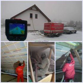 Innowacyjna metoda ocieplanie poddaszy, stropodachów