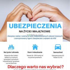 UBEZPIECZENIA - TWÓJ AGENT - ONLINE