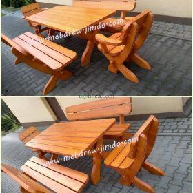 meble ogrodowe ,komplet ogrodowy drewniany