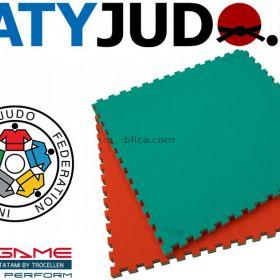 MATA PUZZLE TROCELLEN ® 1x1m 4cm SOFT MMA JUDO IJF