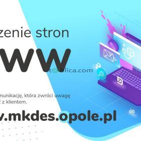 Tworzenie stron internetowych www - MKDES Opole