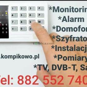 Monitoring - Alarm - Domofon - Elektryka - Automatyka