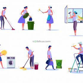 Sprzątanie - Dezynfekcja - Fumigacja
