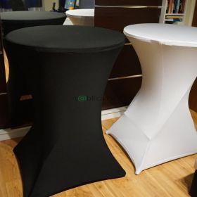 Stół stoły koktajlowy pokrowce krzesła wynajem