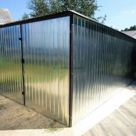 Garaż blaszany 2x4 3x5  GARAŻE BLASZANE  Cała Polska