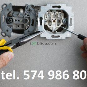 Usługi elektryczne, instalacje elektryczne. Elektryk