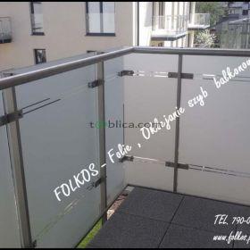 Oklejanie balkonów -Folie balkonowe Warszawa
