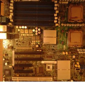 intel server board s5000psl+XEON 5130 SL9RX X X2