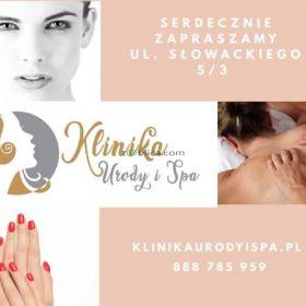 Manicure, pedicure, zabiegi na twarz i ciało, masaże