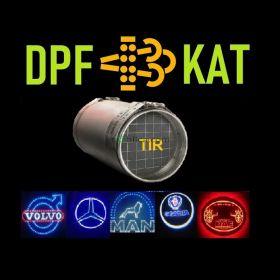 Koszalin DPF TIR Czyszczenie, Regeneracja: DPF EURO 6