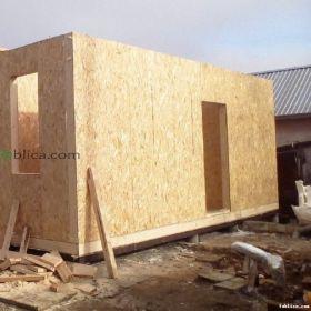 Panele SIP 17cm na domek bez pozwolenia ściana nośna