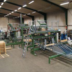 Automaty, maszyny do produkcji palet