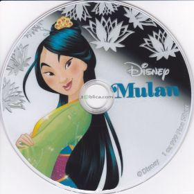 Mulan - bajka na płycie DVD