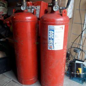 Skup butli FM200 z Hfc227ea ze stałych urządzeń