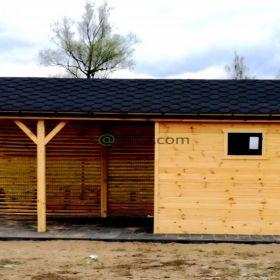 DREWNIANA Altana+domek+drewutnia 3w1 wykonam