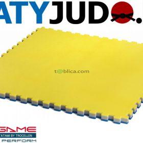 MATY PUZZLE TROCELLEN ® 1x1m 5cm MULTISPORT JUDO MMA