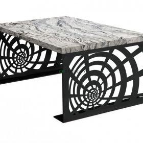 Stolik/stoliki kawowe cięte laserowo/nogi zestaw 2 szt