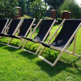 Leżak Leżaki ogrodowe wynajem krzesła stoły hk JBL